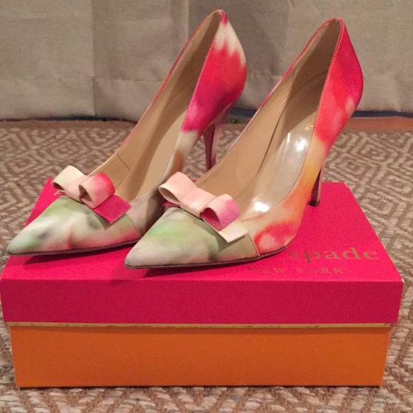 e992da7f1355 kate spade Shoes - Kate Spade lilia bow toed pump